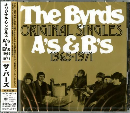THE BYRDS-THE ORIGINAL SINGLES AS&BS 1965-1971-JAPAN 2 CD F83