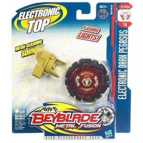 Beyblade Electronic Dark Pegasus Metall Fusion Bayblade Bey Blade NEU