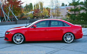 AUDI-A4-B8-FWD-2008-2015-LOWERED-SPRING-KIT-BY-VOGTLAND-GERMANY