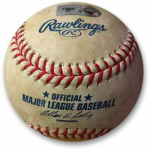 Los-Angeles-Dodgers-vs-Colorado-Rockies-Game-Used-Baseball-08-18-2010-MLB-Holo