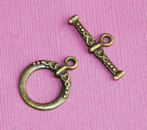 25 sets of Fancy Toggle Clasps 18x15mm