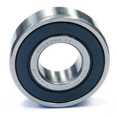 Original Genuine SKF Ball bearing sealed mm 17X40X12 SKF 6203-2RSC3