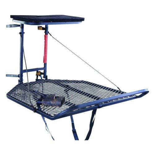 """Guide Gear XL 30/"""" x 36/"""" Hang-On Bow Hunting Tree Stand 300 Lb Capacity HD Steel"""