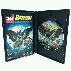 Lego Batman Sony Playstation 2 Ps2 Video Game Complete Tested