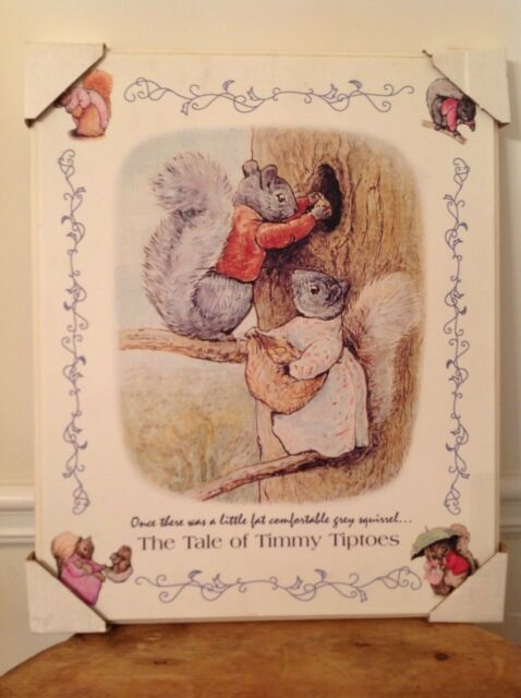 The Tale Of Timmy Tiptoes Beatrix Potter Ebay
