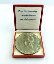 #e4392 Keramik Medaille: Zum 50. Geburtstag Wachregiment Hugo Eberlein