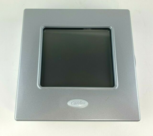 Carrier Performance Edge Programmable Thermostat TP-PHP01, Silver - OEM EUC