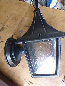 vintage porch portico light tall roof spire black 6 ebay