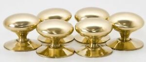 Pack of 24 Victorian Brass Cabinet Cupboard Knob Handles 50mm