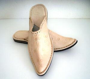 Babouche Marocaine Cuir Cousues B3 Chaussure Mule Chausson Sandale ArôMe Parfumé