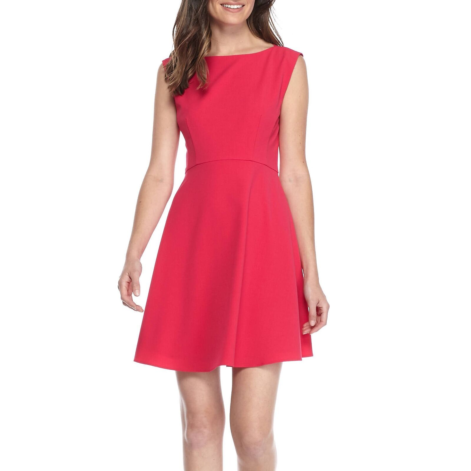 NEW French Connection Whisper Ruth Dress color- Pink Size 6