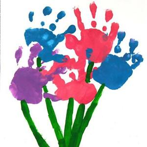 Giant-Hand-Foot-Print-Paint-Pad-for-MOTHERS-DAY-Crafts-Cards-Flowers