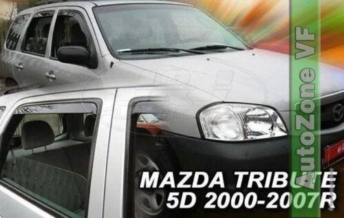 DMA23148 Mazda Tribute 2000-2008 viento desviadores 4pc Heko Teñido