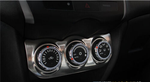 Inner Air Condition Button Cover Trim For Mitsubishi Outlander sport 2016 2017