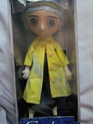 Coraline Movie Doll 10 In Replica Prop Neca Brand New With Raincoat Boots Ebay