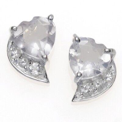 56 Anhänger Handarbeit  NEU 925 Silber Rosenquarz Ohrringe SB1377 Ring Gr