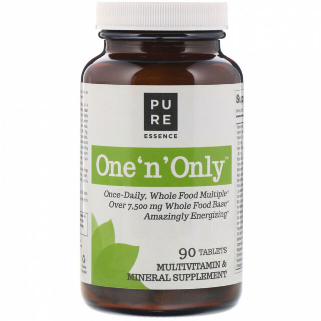 Pure Essence, One 'n' Only, Multivitamin And Mineral, 90 Tablets