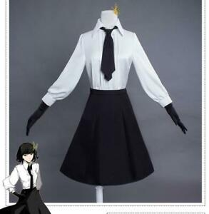 Bungo-Stray-Dogs-Akiko-Yosano-Cosplay-Costume-Halloween-Dress-Suits