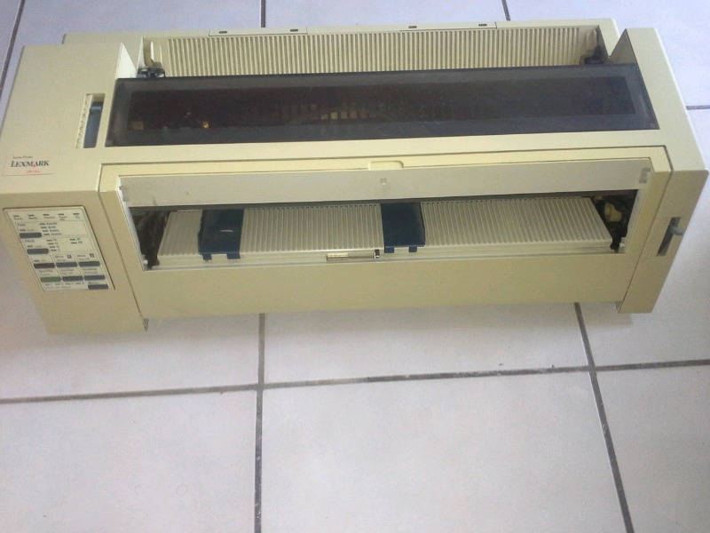 Lexmark printer parallel with cable