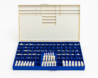Polycarbonate Temporary Dental Crowns Box Kit 180 Pcs W/ Crown Mold Guides