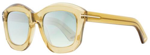 02 45P Champagne Transparente 50mm FT0582 Óculos De Sol Quadrado Tom Ford TF582 Julia