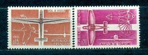 TIMBRES DE FRANCE 1962 AVIATION LEGERE  Y.V. N°1340 / 1341  NEUFS SANS CHARNIERE