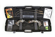 New Martin Saber Take Down Recurve Bow Kit RH 40# Next G1 Vista Camo