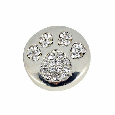 10pcs Crystal Alloy Charm Ginger Snap Button For Noosa Necklace//Bracelet N797