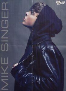 MIKE-SINGER-A2-Poster-XL-42-x-55-cm-Deja-Vu-Clippings-Fan-Sammlung-NEU