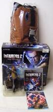 INFAMOUS 2 PS3 HERO COLLECTORS EDITION w/ SEALED GAME COMIC BOOK FIGURE SLING