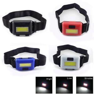 Mini-COB-LED-Headlamp-Headlight-Waterproof-Adjustable-Camping-Lamps-Light-Torch