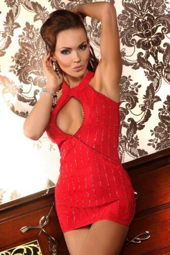 BEAUTY NIGHT Danielle Luxe Super Doux Robe Mini Et Assorti G-string Set