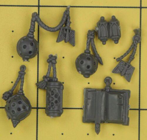 A Warhammer 40K Space Marines Dark Angels Company Veterans Accessories