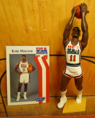 Details about  /1992  KARL MALONE Starting Lineup Basketball DREAM TEAM USA Figure /& Card
