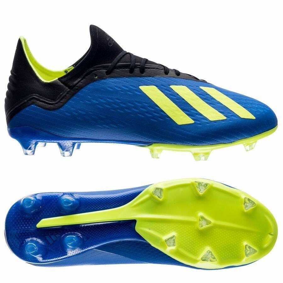 Adidas X 18.2 FG para Hombre Botines De Fútbol Modelo DA9334 MSRP