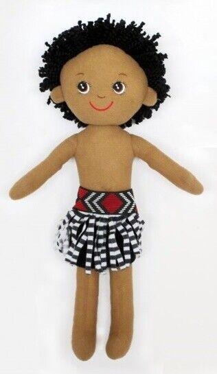 NZ Gift: Soft Doll Maori Boy - 40cm