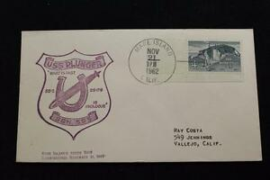 Naval-Cubierta-1962-Mano-Cancelado-Commissioning-Uss-Embolo-SSN-595-2498