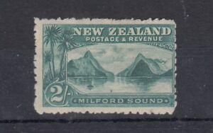 New-Zealand-QV-1899-2-Blue-Green-Milford-Sound-SG269-MH-J7325