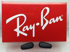 Authentic Rayban RB 3542 Replacement Nose Pads Black New! Genuine Crimp On Style