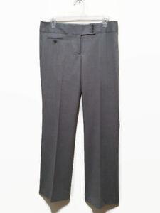 grigio pantaloni carriera chiaro taglia dritti pantaloni Maxazria gamba 6 Bcbg nwHtYCqq