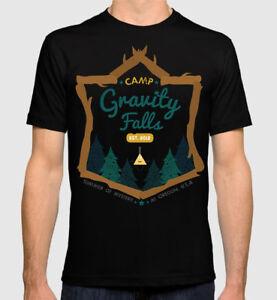 Gravity-Falls-T-shirt-Cartoon-Tee-Men-039-s-Women-039-s-All-Sizes