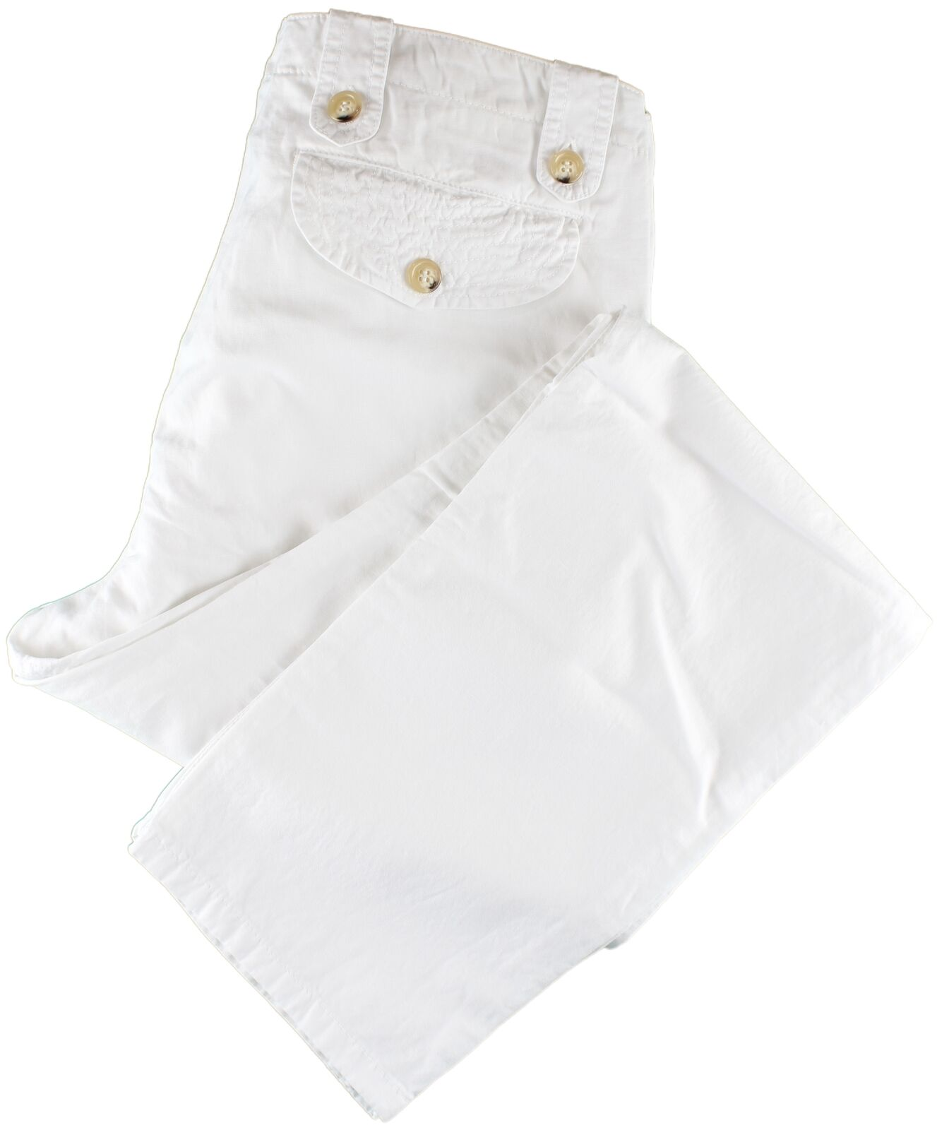 NWT EIDOS by ISAIA white casual pants Justind  IT 50 US 34