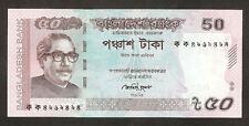 Bangladesh 50 Taka 2011 Unc Pn New With Error