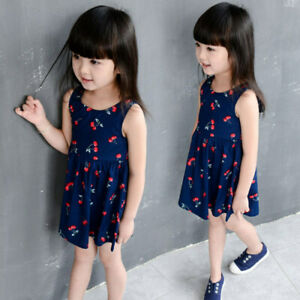 2ab6f804588 Image is loading Baby-Girl-Dress-Princess-Dresses-Children-Clothing-for-