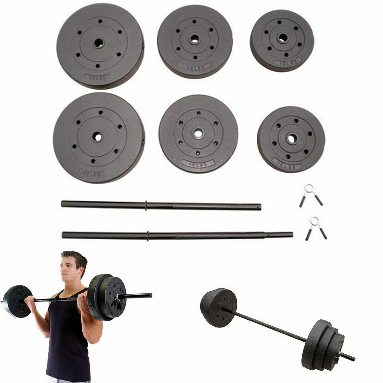 Casa para entrenamiento conjunto de 100 libras de peso placas de levantamiento de pesas Barbell Placa De Agarre