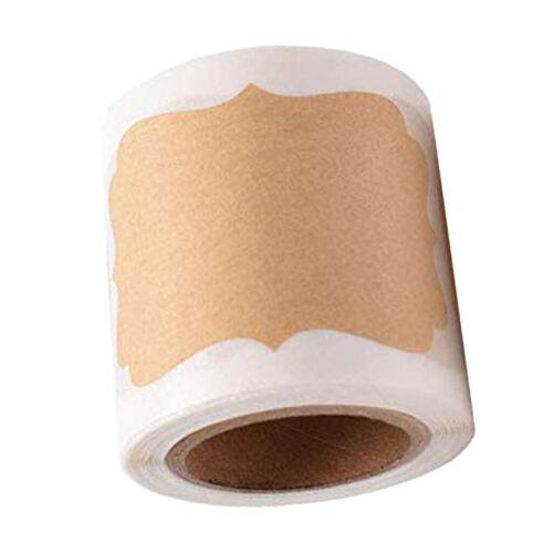 300 Stück Blanko Geschenk Anhänger kraftpapier Etiketten Tags