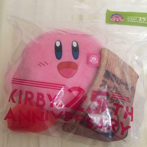 Kirby Super Star 25Th Annivesary Super Delux Plush With Poch Sanei Boeki
