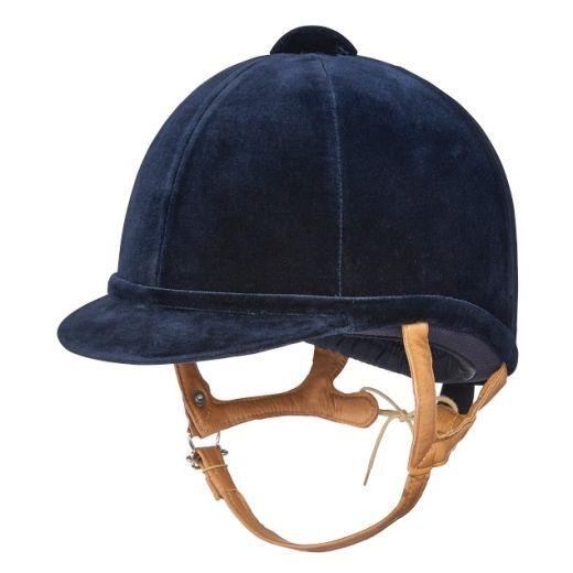 Charles Owen Network Blu Navy 57 7 con Cappello Gratis Borsa del valore di .00