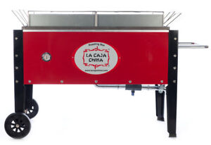 Home & Garden La Caja China Sp 300 Roasting Box Mobil Pig Roaster Top Grills And Accessories