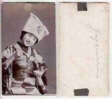 Japan Nippon,Japanerin beim Tee,Geisha girl during tea ceremony RP Foto um 1890